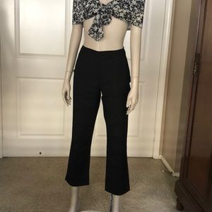 Chico's Black Cropped Pants